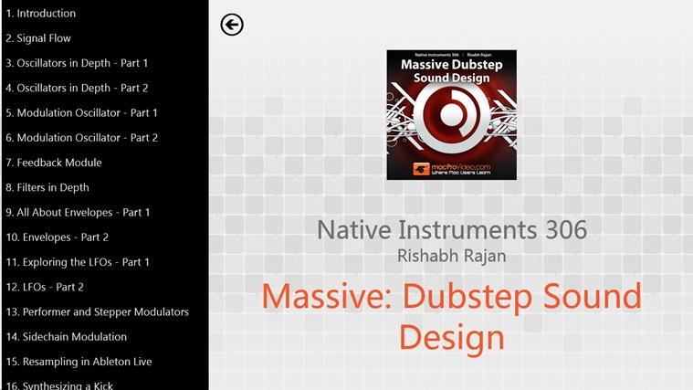 NI - Massive: Dubstep Sound Design screen shot 1