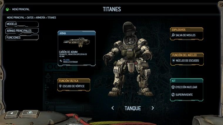 Aplicación complementaria de Titanfall™ captura de pantalla 1