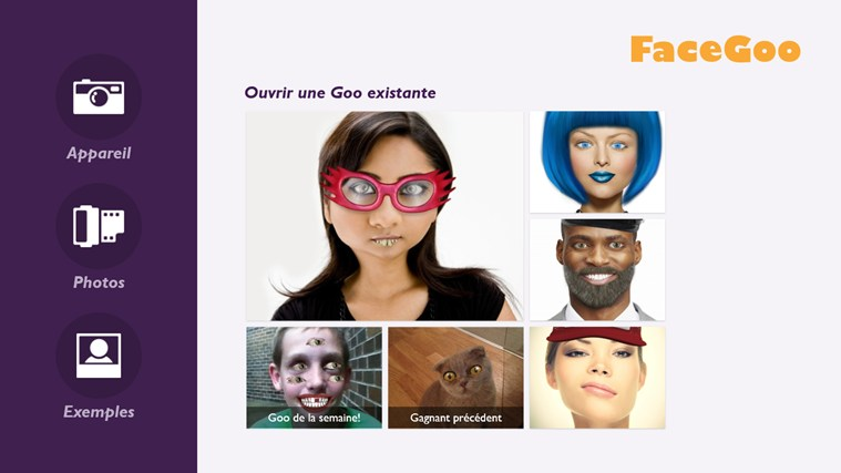 FaceGoo capture d'écran 1