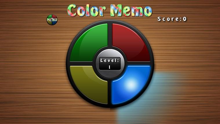 Color Memo screen shot 3