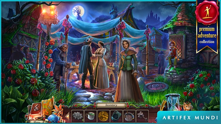 Grim Legends: The Forsaken Bride screen shot 1