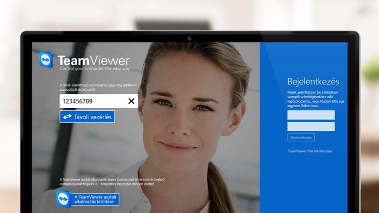 TeamViewer Touch – 1. képernyőkép