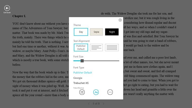 Kobo Books screen shot 3