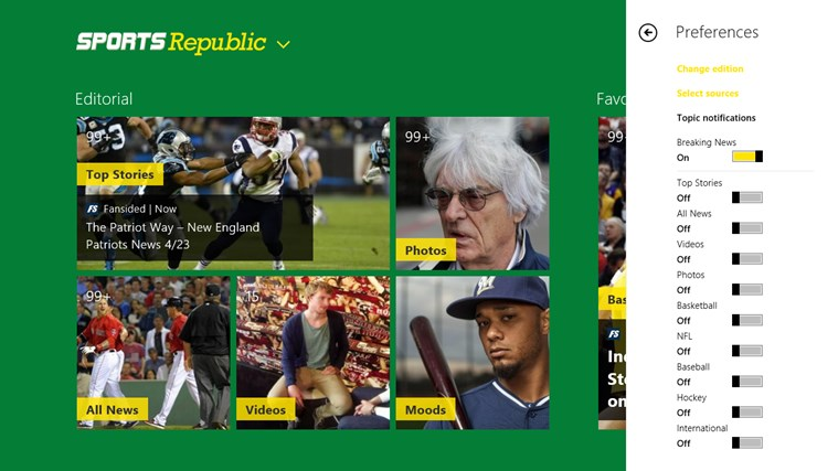 Sports Republic screen shot 1