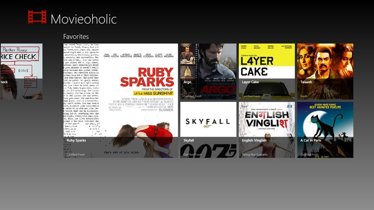 Movieoholic screen shot 7