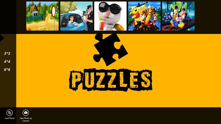 Puzzles Game ภาพหน้าจอ 1