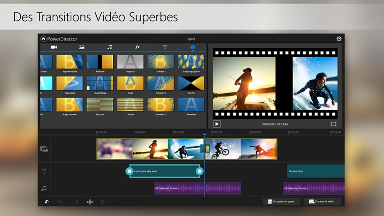 PowerDirector Mobile capture d'écran 5