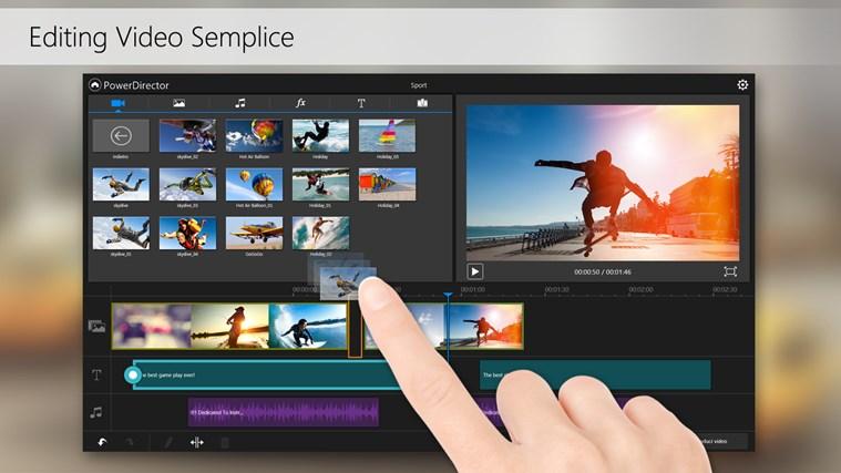 PowerDirector Mobile cattura di schermata 3