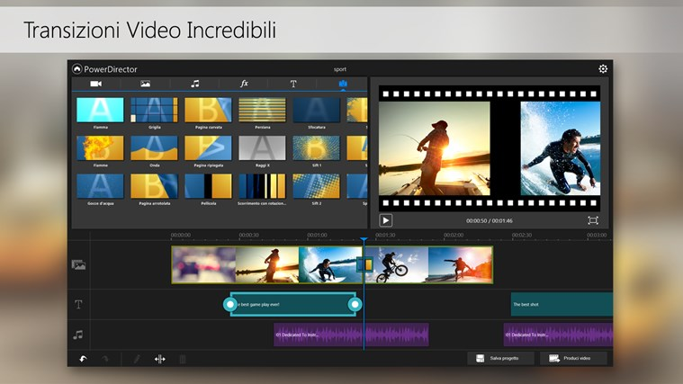 PowerDirector Mobile cattura di schermata 5