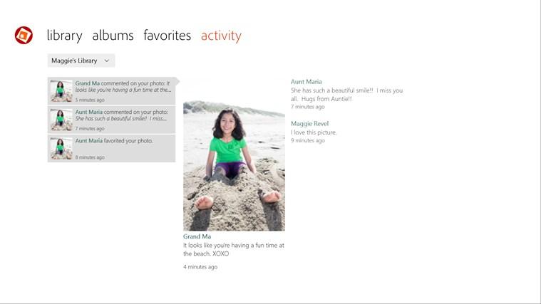 Adobe Revel screen shot 3