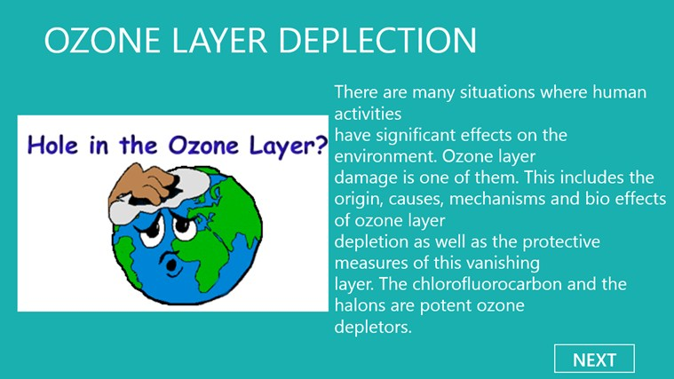 essays on ozone layer depletion Free essay: ozone layer depletion ozone is a natural trace component of the  atmosphere it is created continuously through the action of sunlight and oxygen.