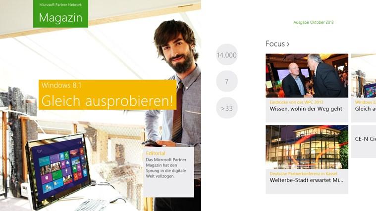 Microsoft Partner Magazin Screenshot 1