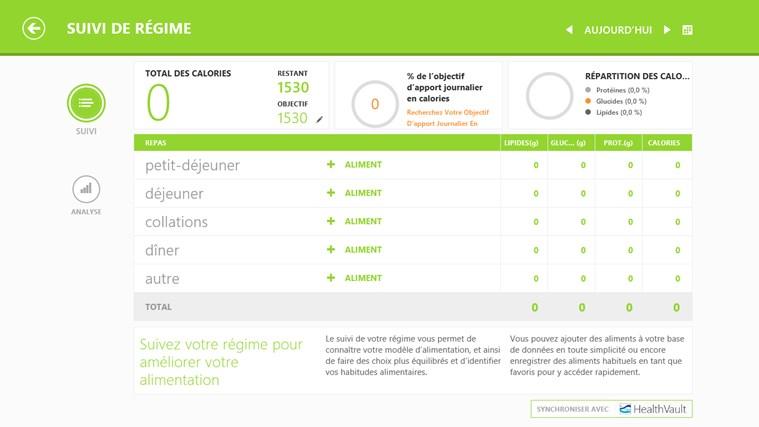 Bing Santé & Forme capture d'écran 3
