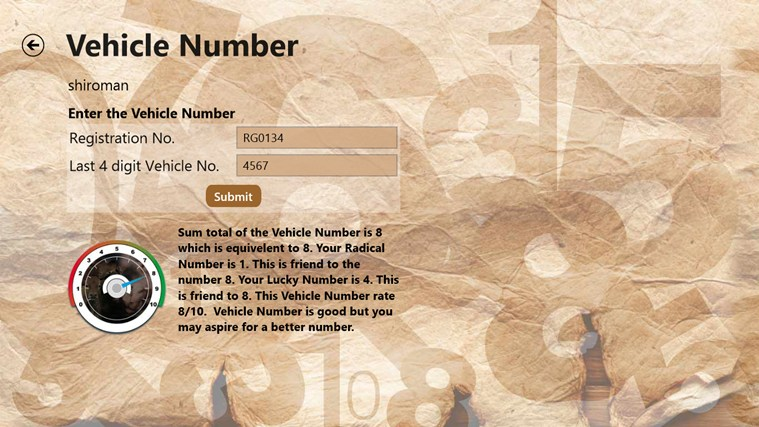 Leo Numerology Calculator screen shot 5