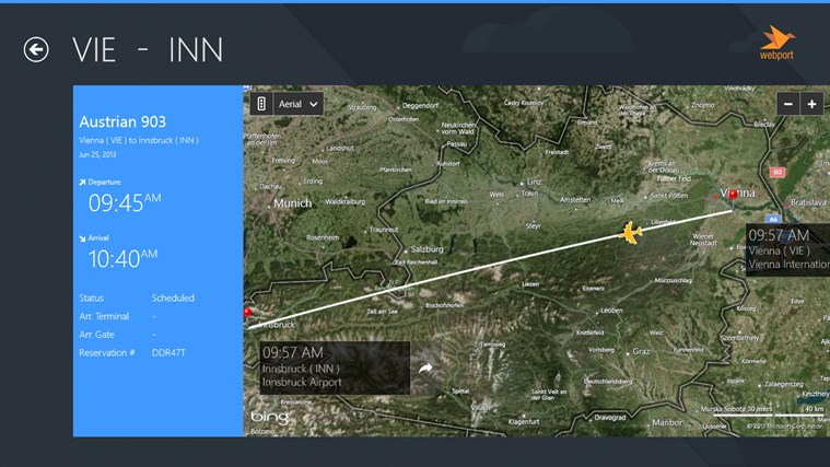 Salzburg Airport + Flight Tracker ciplun 1