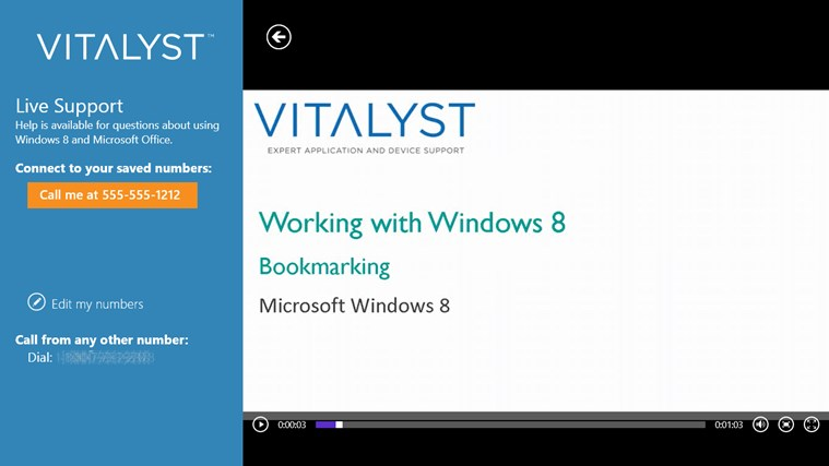 Vitalyst Help Me kNow screen shot 3