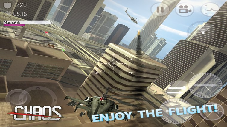 C.H.A.O.S Multiplayer Air War screen shot 3
