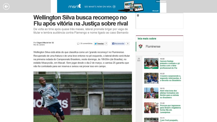 Fluminense News screen shot 1