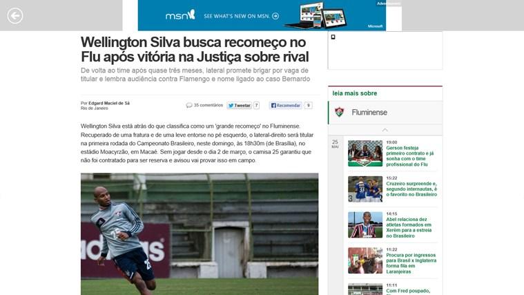 Fluminense News screen shot 1