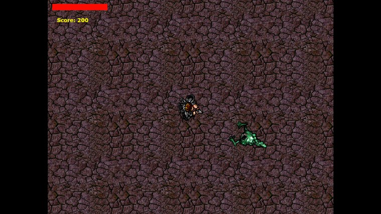 Survivor of the Green Monsters captura de tela 1