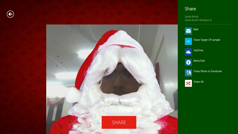 Santa Booth screen shot 1