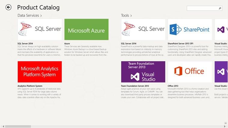 Products & Services Portfolio screen shot 3