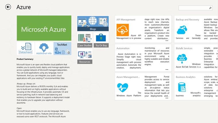 Products & Services Portfolio screen shot 5
