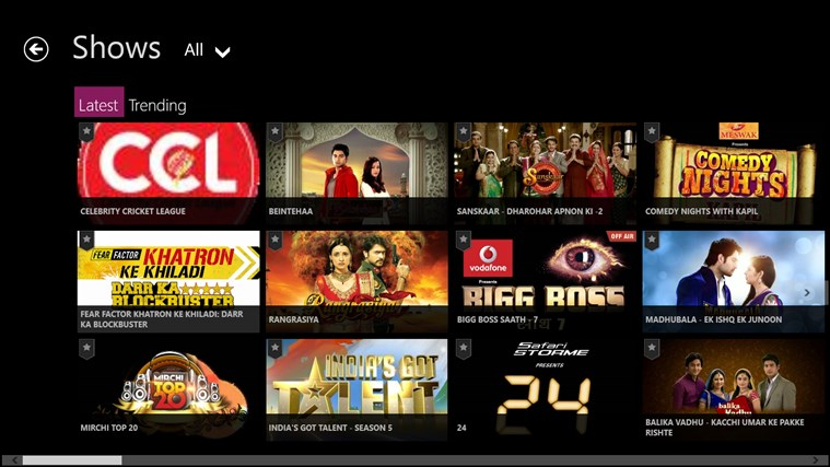 ColorsTV screen shot 1