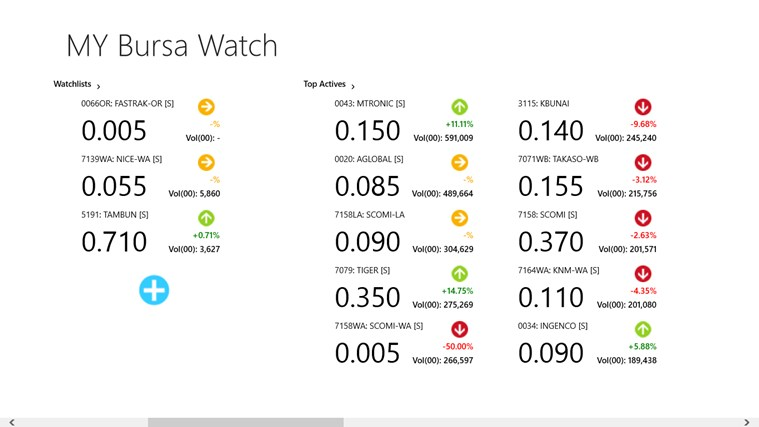 MY Bursa Watch screen shot 1