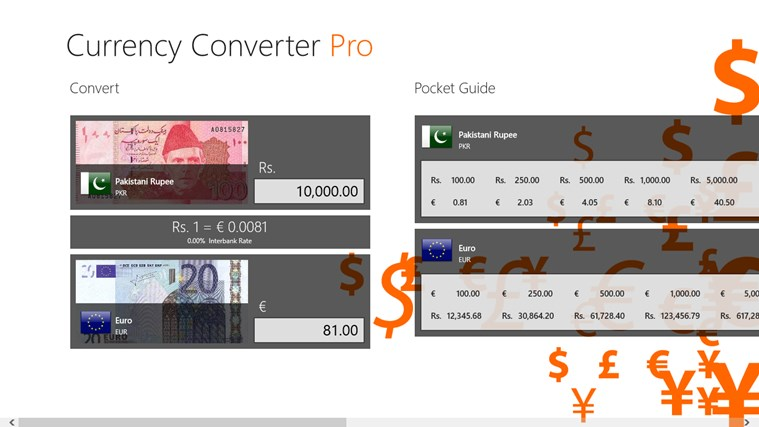 Currency Converter Pro צילום מסך 1
