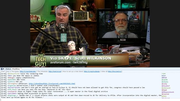 TWiT View screen shot 1
