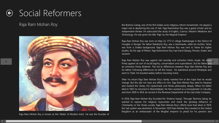 social reformers Here is a brief profile of great indian social reformers read about popular indian social reformers.