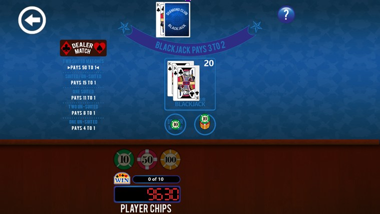 3rd Floor Blackjack screen shot 1