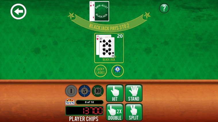 3rd Floor Blackjack screen shot 5