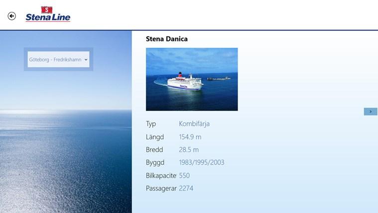 Stena Line Travel-skärmbild 1