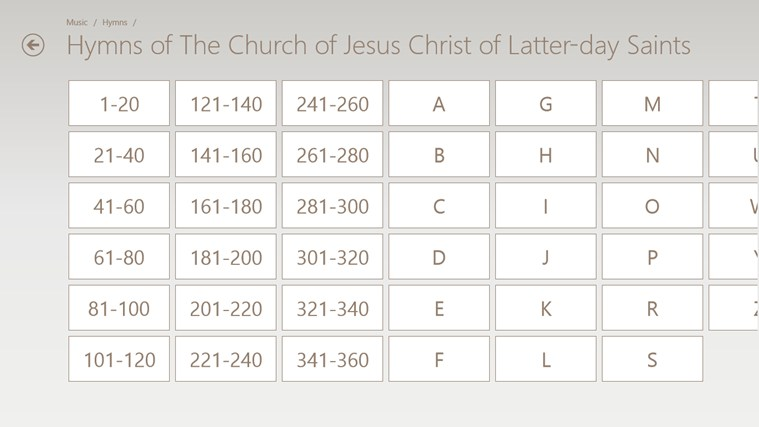LDS Gospel Library screen shot 5