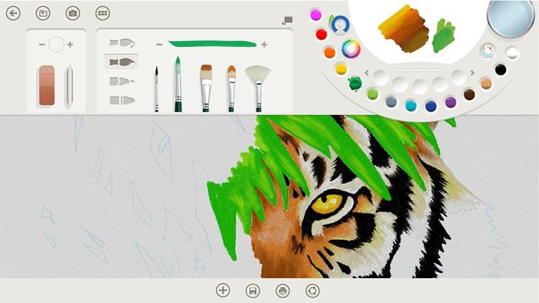 Fresh Paint captura de pantalla 1