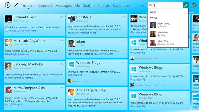 Tweetium screen shot 7