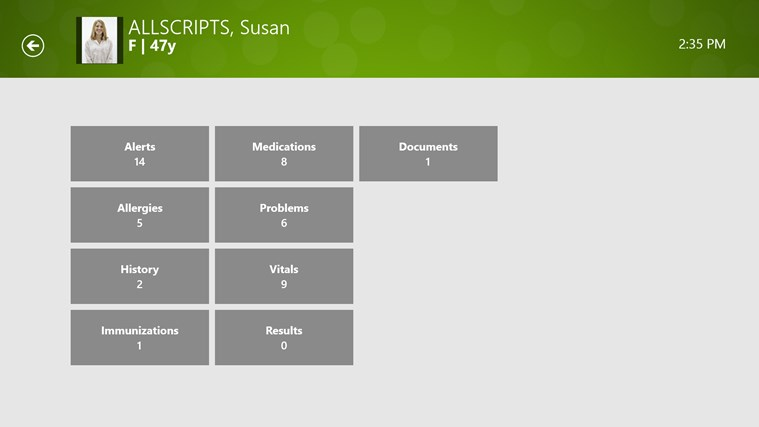 Allscripts Wand for TouchWorks EHR screen shot 1