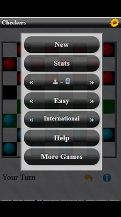 Checkers (Free) screen shot 1