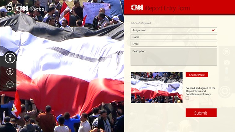 CNN App for Windows screen shot 3