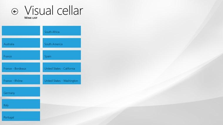 VisualCellar screen shot 5