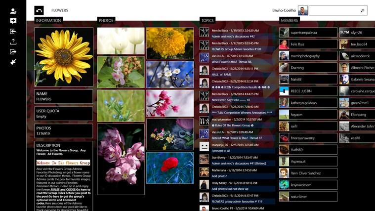 Flickrology screen shot 3