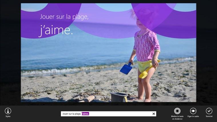 Instants vidéos capture d'écran 1