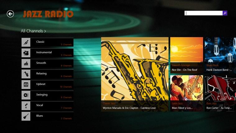 JazzRadio screen shot 3
