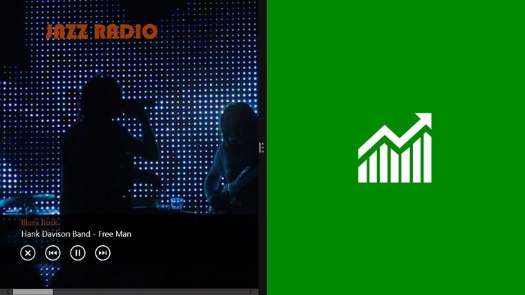 JazzRadio screen shot 5
