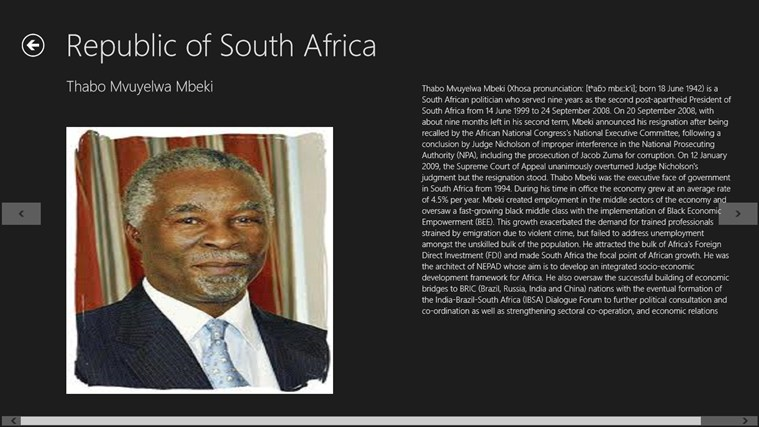 South african history timeline bbc quotes