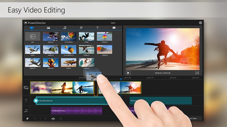 PowerDirector Mobile Video Editor – Bundled screen shot 3