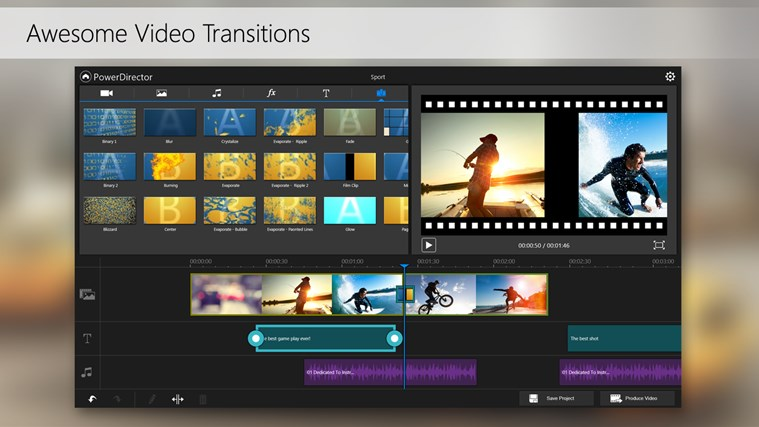 PowerDirector Mobile Video Editor – Bundled screen shot 5
