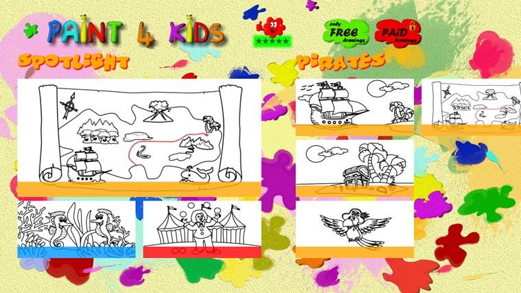 Paint 4 Kids screen shot 3